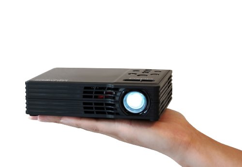 Aaxa mp 300 02 led showtime 3d pico micro projector with for Micro movie projector